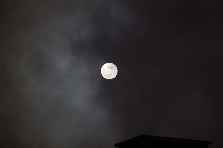Supermoon or Superscary?